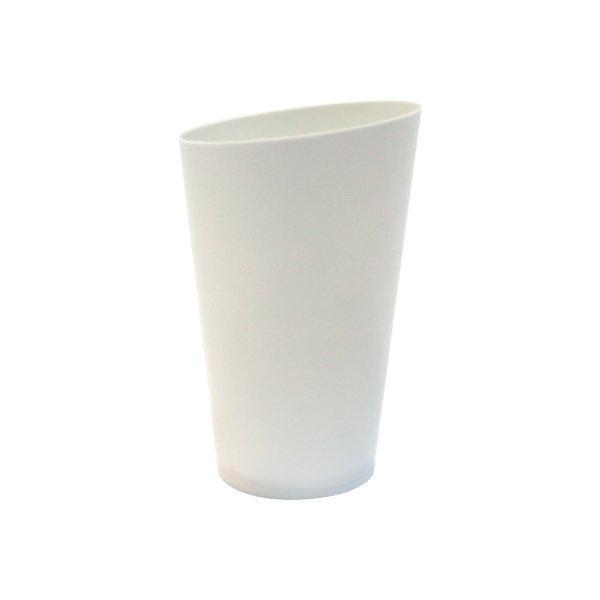 Форма для фуршетов, 75мл, d 50мм, Medium Conical, белая, 25 шт