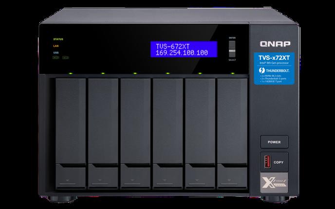 Сетевое хранилище QNAP TVS-672XT-i3-8G, фото 2