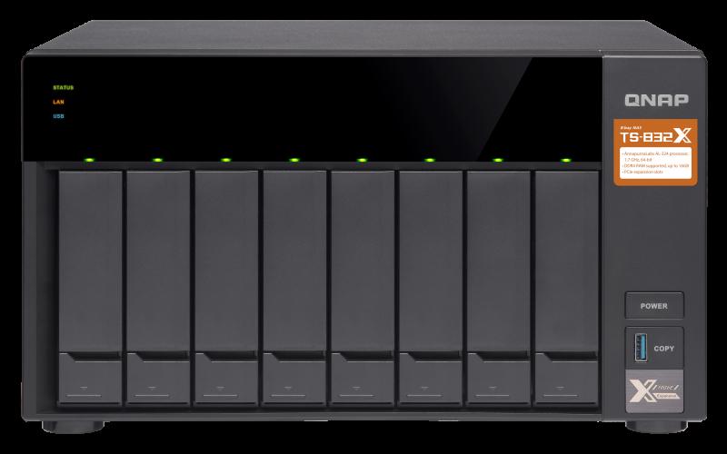 Сетевое хранилище QNAP TS-832X-2G
