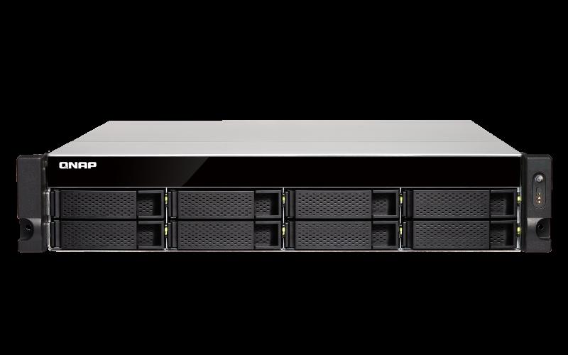 Сетевое хранилище QNAP TS-863XU-RP-4G