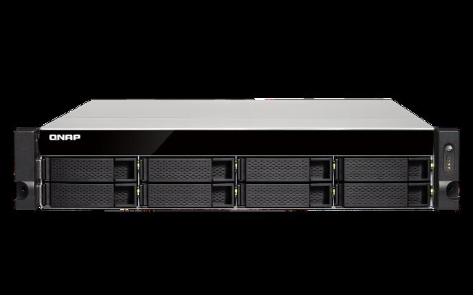 Сетевое хранилище QNAP TS-863XU-RP-4G, фото 2