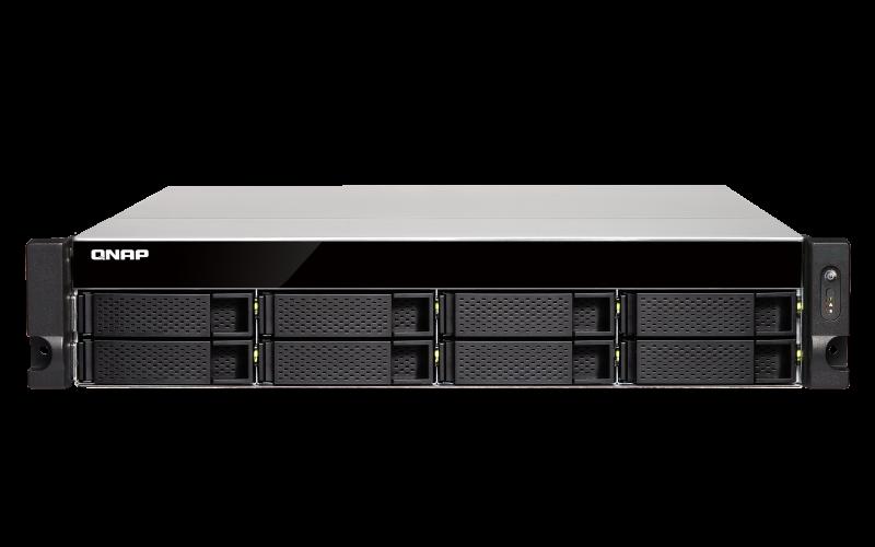 Сетевое хранилище QNAP TS-873U-RP-8G