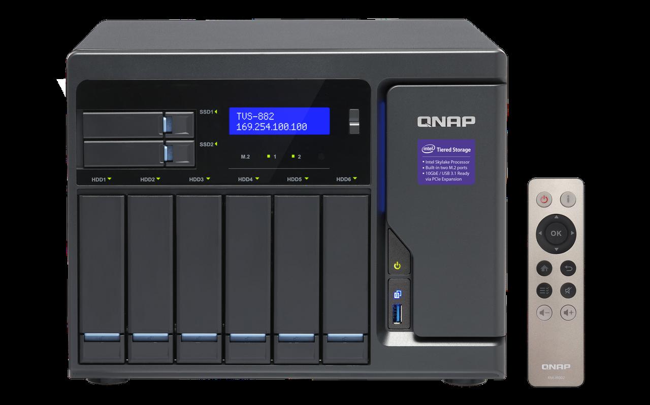 Сетевое хранилище QNAP TVS-882-I5-16G