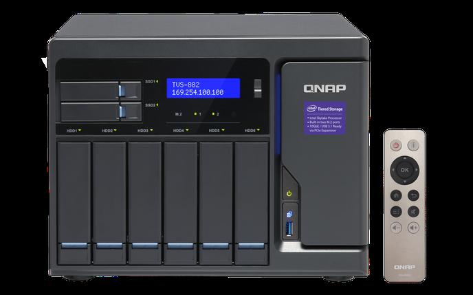 Сетевое хранилище QNAP TVS-882-I5-16G, фото 2