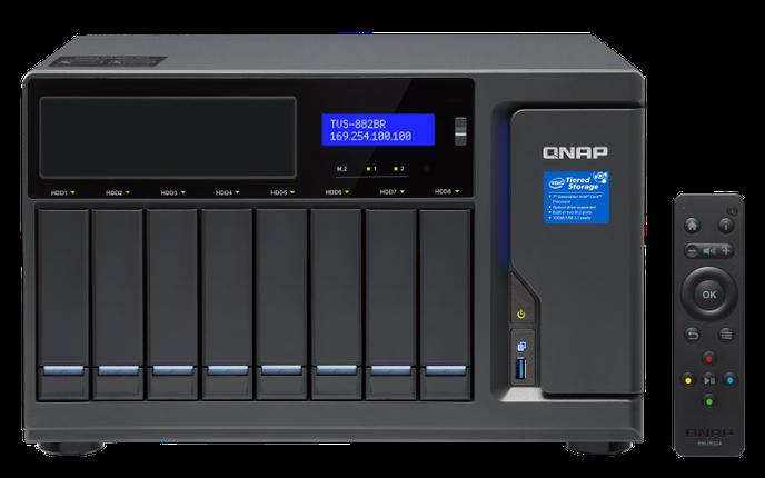 Сетевое хранилище QNAP TVS-882BR-I5-16G, фото 2