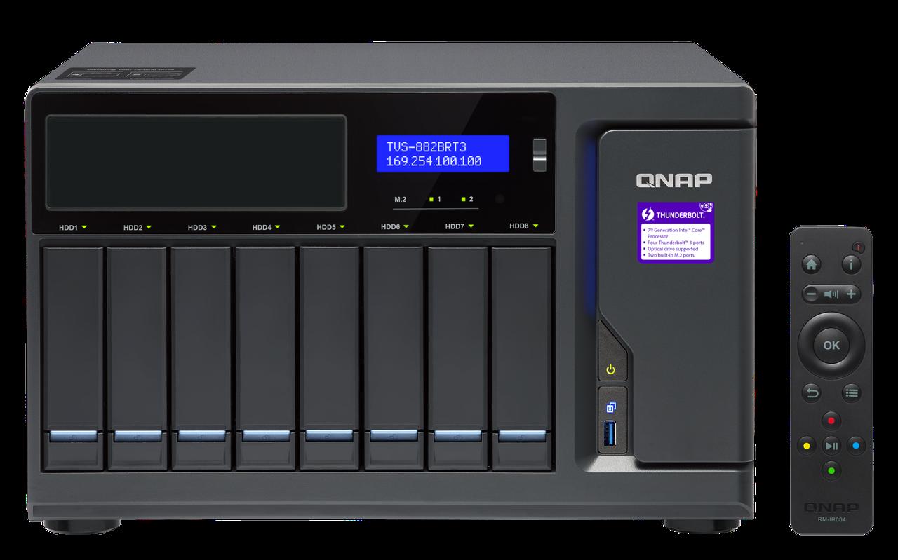 Сетевое хранилище QNAP TVS-882BRT3-i5-16G