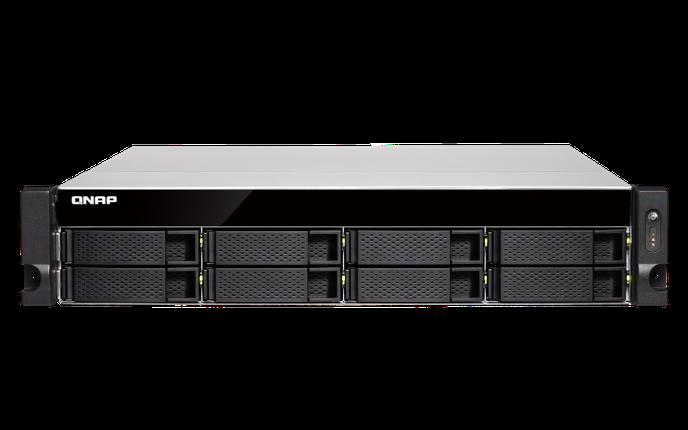 Сетевое хранилище QNAP TVS-872XU-RP-i3-4G, фото 2