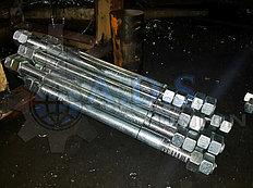 оцинкованные болты фундаментные (анкерные шпильки) ГОСТ 24379.1-80, ГОСТ 24379.0-2012