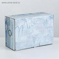 Коробка‒пенал «Деревянный ящичек», 22 × 15 × 10 см
