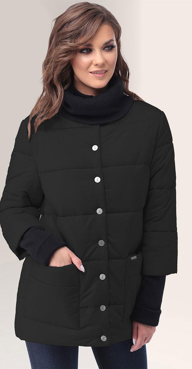 Куртка LeNata-11044, черный, 44