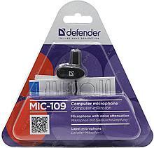 Микрофон Defender MIC-109. петличный