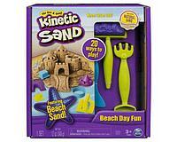 Набор для лепки Kinetic sand пляж