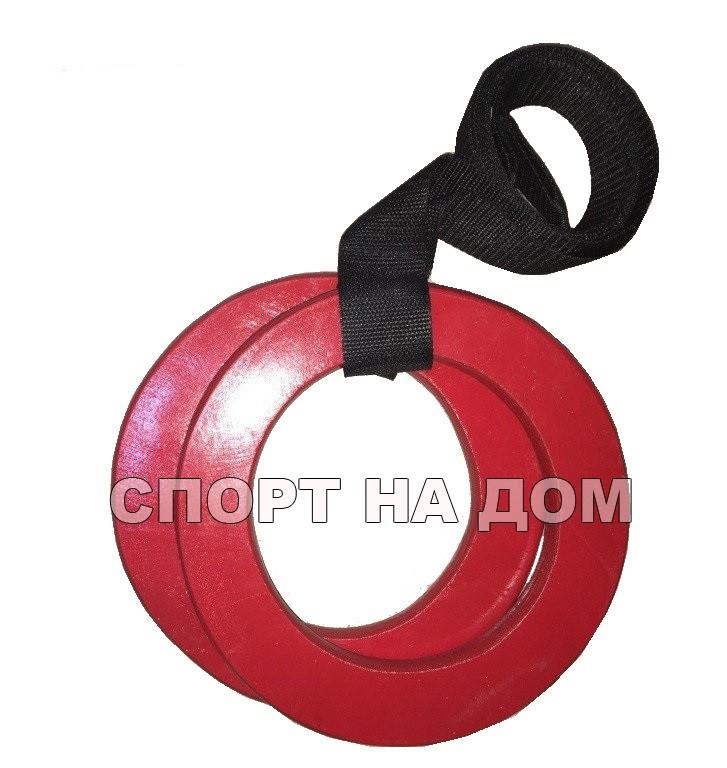 Детские гимнастические кольца (дерево) - фото 2