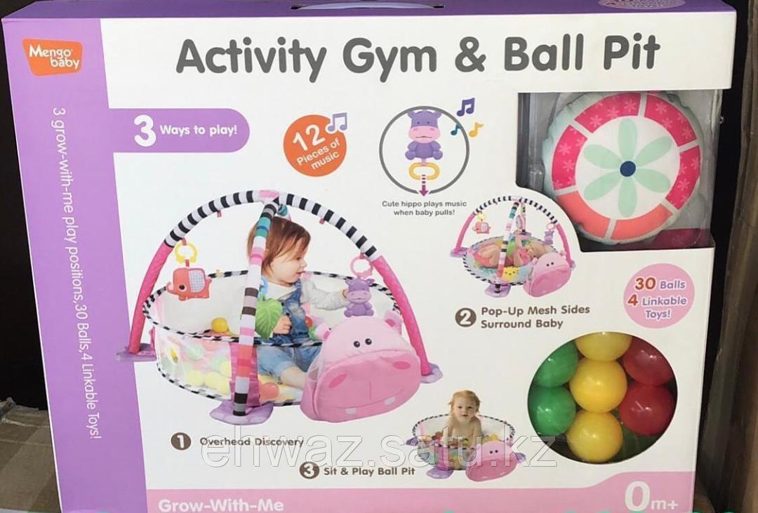 Развивающий коврик Activity Gym and Ball Pit