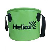 Ведро складное ПВХ 11л Helios (HS-VS-PVC-11L)