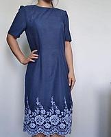 Классическое платье с кружевами