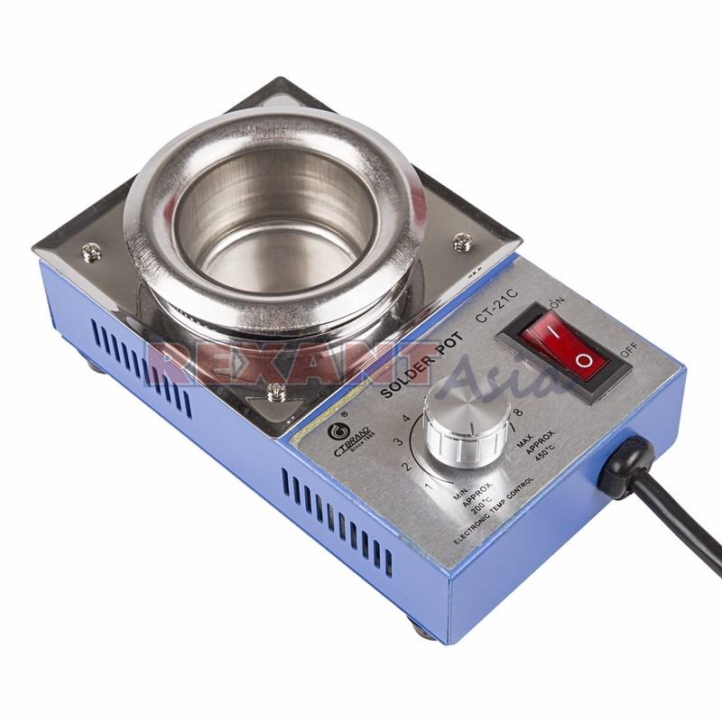 Паяльная ванна CT-21C 200 Вт d50 мм t 430 °С, (12-0063-4 )