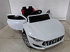 Красивый электромобиль на гелевых колесах Maserati. Мазерати. Электрокар, фото 9