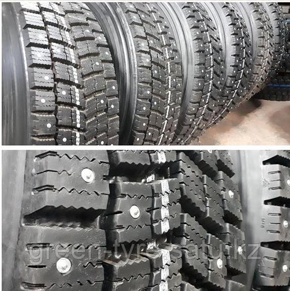 Восстановление протектора шин со специальным  зимним протектором R22.5