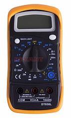 Универсальный мультиметр MAS838L (DT858L) PROconnect, (13-3022 )