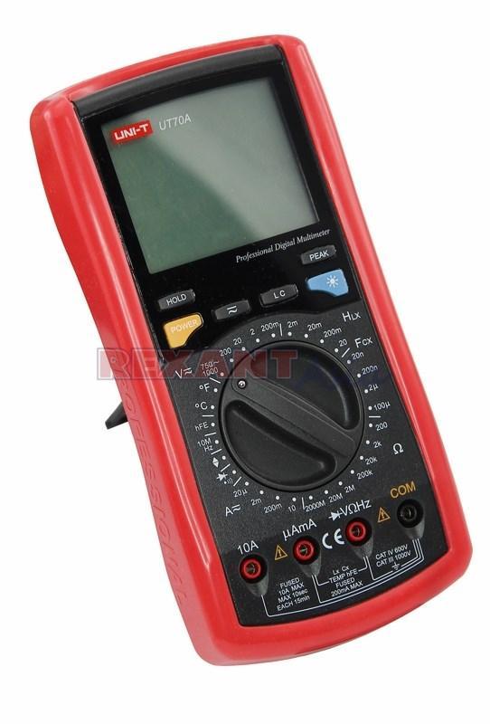 Профессиональный мультиметр UNI-T UT70A, (13-1015 )
