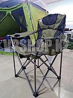 Усиленный складной стул туристический для рыбалки для похода для охоты Camp Master, доставка