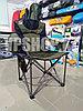 Усиленный складной стул туристический для рыбалки для похода для охоты Camp Master, доставка, фото 3