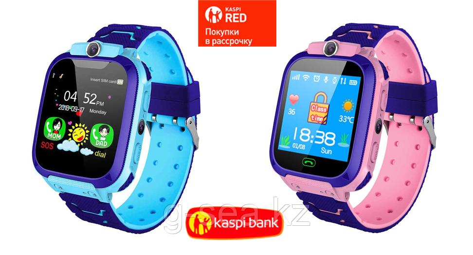 Детские часы с GPS S9