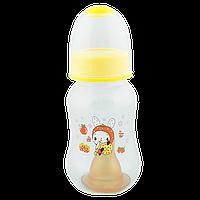 Бутылочка для кормления Маленькая Милашка (Little Sweetty) с каучуковой соской, 125 мл