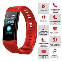 Умный браслет здоровье с измерением давления, тонометр - пульс,  смарт часы для пожилых MI Smart Healthy F1, фото 1