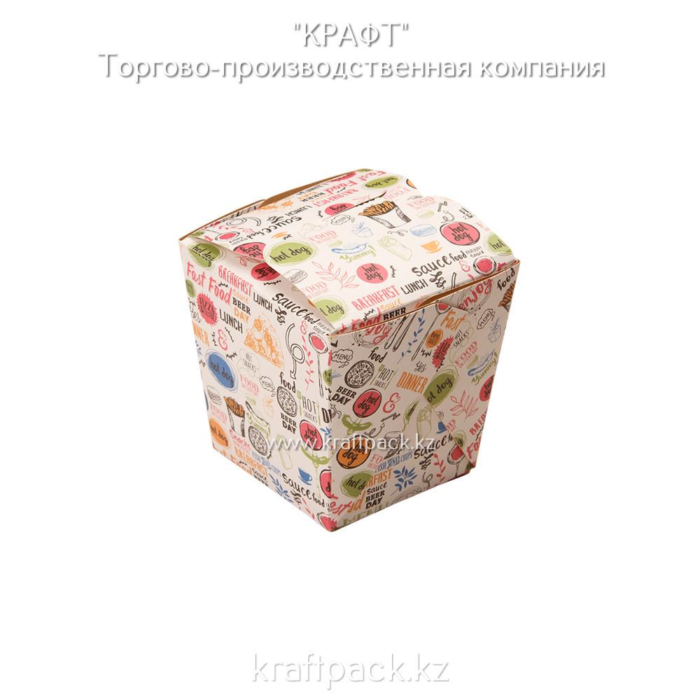 Коробочка для плова, лагмана, лапши WOK ENJOY 560мл (Eco Noodles 560 Enjoy) DoEco (105/420)