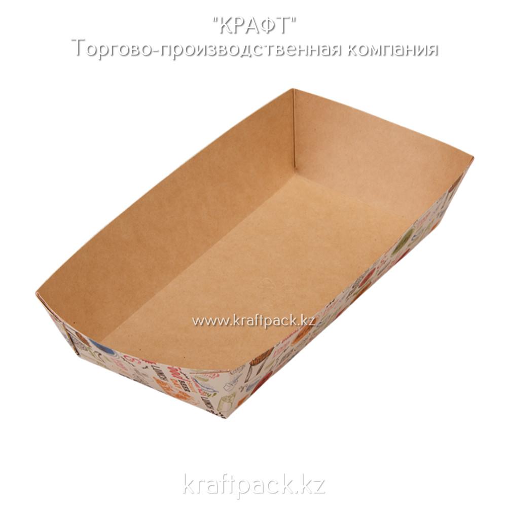 Лоток для картофеля фри,хот-догов TRAY 800 ENJOY 220*115*42 (Eco Tray 800 Enjoy) DoEco (300)