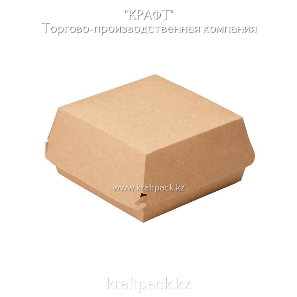 Упаковка для бургеров L 140*140*70 (Eco Burger L) DoEco (150)