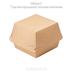 Упаковка для бургеров XL 130*130*110 (Eco Burger XL) DoEco (150)