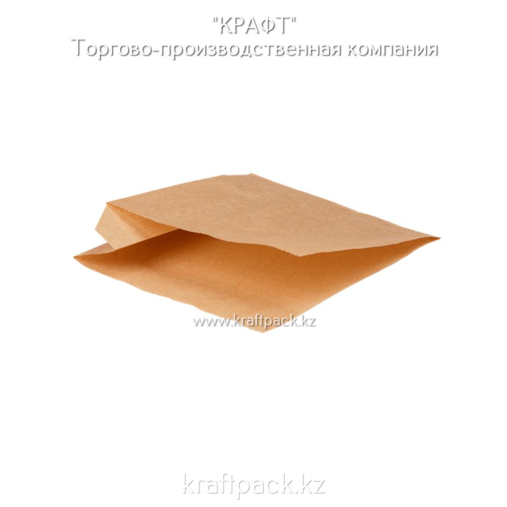 Бумажные уголки S крафт для бургеров и сэндвичей 100*120*50 (Eco Sandwich Bag S) DoEco (2000шт/уп)