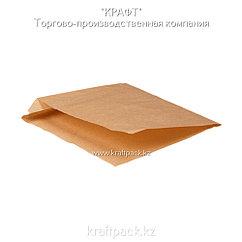 Бумажные уголки M крафт для бургеров и сэндвичей 140*145*30 (Eco Sandwich Bag M) DoEco (2000шт/уп)