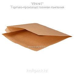 Бумажные уголки L крафт для бургеров и сэндвичей 170*170*60 (Eco Sandwich Bag L) DoEco (2000шт/уп)