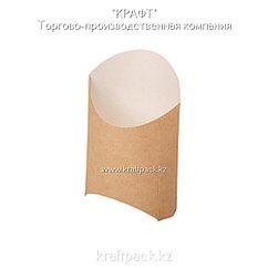 Упаковка для картофеля фри M 105*50*110 (Eco Fry M)  DoEco (50/1200)