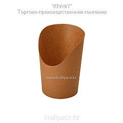 Упаковка для картофеля фри, снеков, поп корна,мороженного L 720мл (Eco Snak Cup L) DoEco (50/1000)
