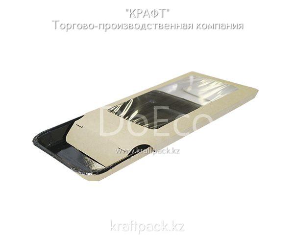Конверт с прозрачным окном для лотка Platter 400мл (Eco PL 400 Cover) DoEco (50/300)