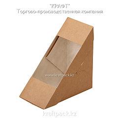 Упаковка для сэндвичей/бутербодов 130*130*70 (Eco Sandwich 70) DoEco (50/500)