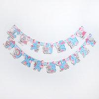 Гирлянда на люверсах 'С Днем Рождения!', Me To You, дл. 300 см