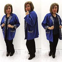Пиджаки -кардиганы  из 100% ХБ трикотажа