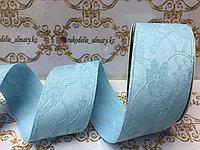 Декор лента кружевная на шелке 4 см, Д3-65