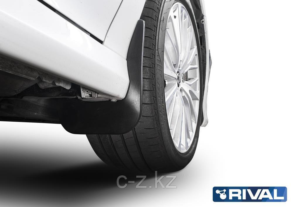 Комплект передних брызговиков, RIVAL, Toyota Camry XV70 2018-