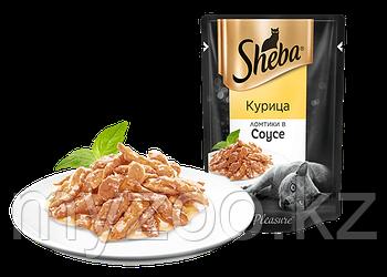 Влажный корм для кошек Sheba (Шеба) 85 гр. ломтики в соусе курица