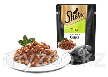 Влажный корм для кошек Sheba (Шеба) 85 гр. ломтики в соусе утка