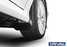 Комплект задних брызговиков, RIVAL, Toyota Camry XV70 2018 -