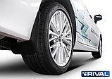 Комплект задних брызговиков, RIVAL, Toyota Camry XV70 2018 -, фото 2