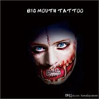 Татуировка Зубы-мышцы на Halloween Big Mouth Tattoo, фото 1
